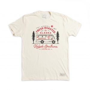 coffee truck unisex t-shirt